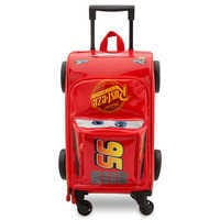 Image of Lightning McQueen Rolling Luggage - Cars 3 # 1