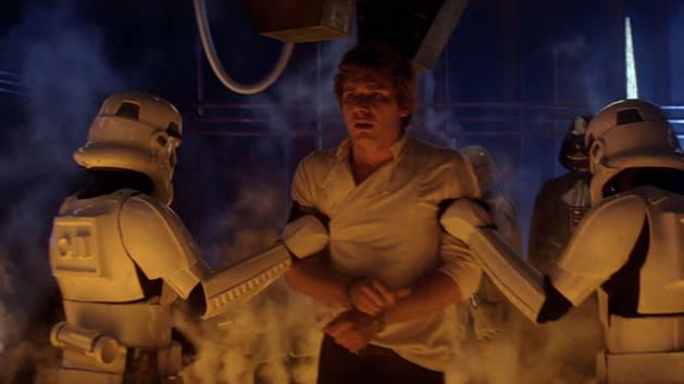 Star Wars - Karbonfrys: Han Solo nedfryst i karbonitt