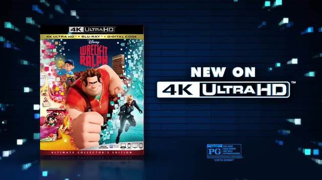 Wreck-it Ralph New on 4K Ultra HD