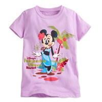 Minnie Mouse Tee for Girls - Disney's Polynesian Village Resort - Walt Disney World