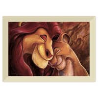 Image of The Lion King ''Pride Love Everlasting'' Giclée by Darren Wilson # 9