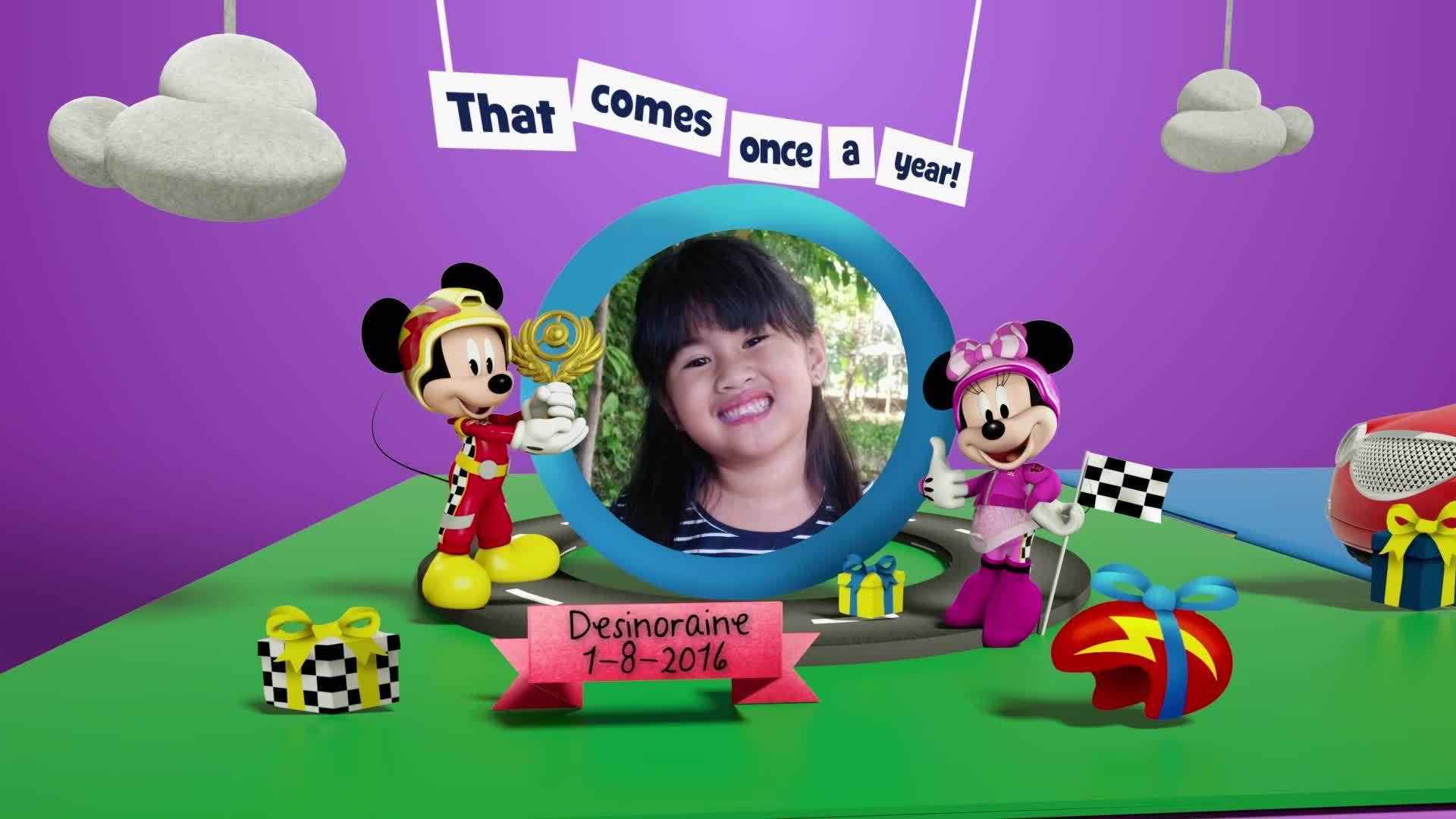 Disney Junior Birthday Book 2021 August Album 12