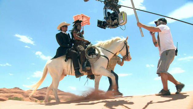 Heat - The Lone Ranger Behind the Scenes