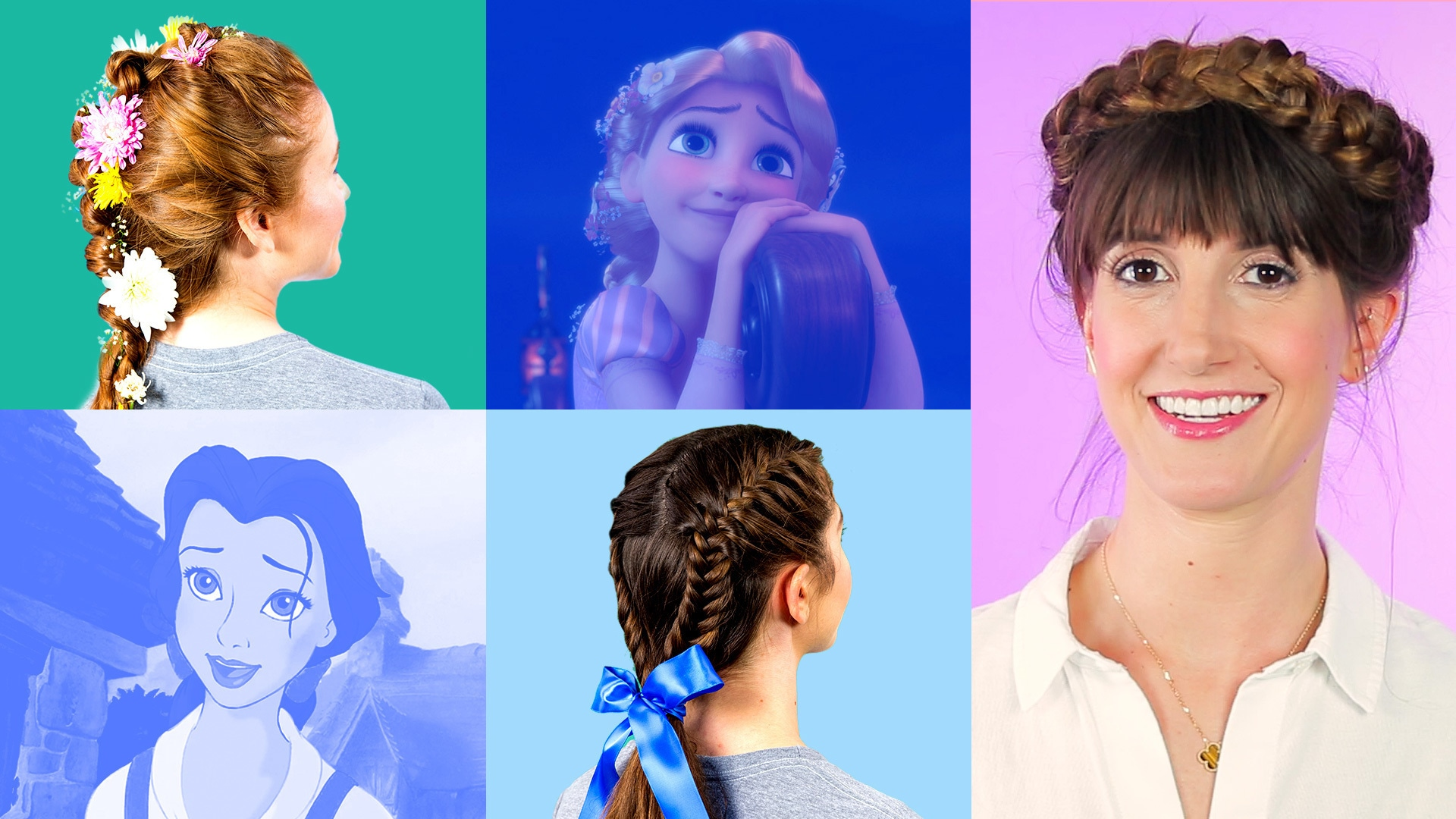 Disney-Inspired Braid Tutorial | Disney Style