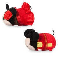 Image of Mickey and Minnie Mouse ''Tsum Tsum'' Plush Set - Mini - 3 1/2'' - Spain # 2