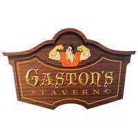 Image of Gaston's Tavern Wall Sign - Walt Disney World # 1
