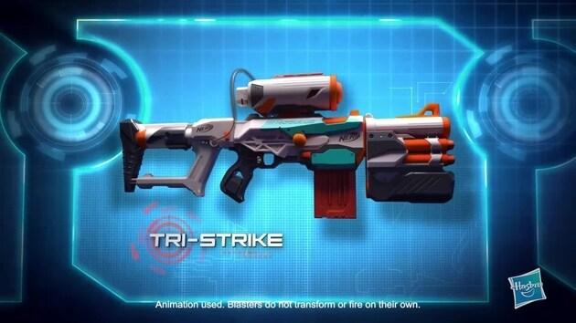 Video thumbnail for NERF: Modulus Tri Strike AU