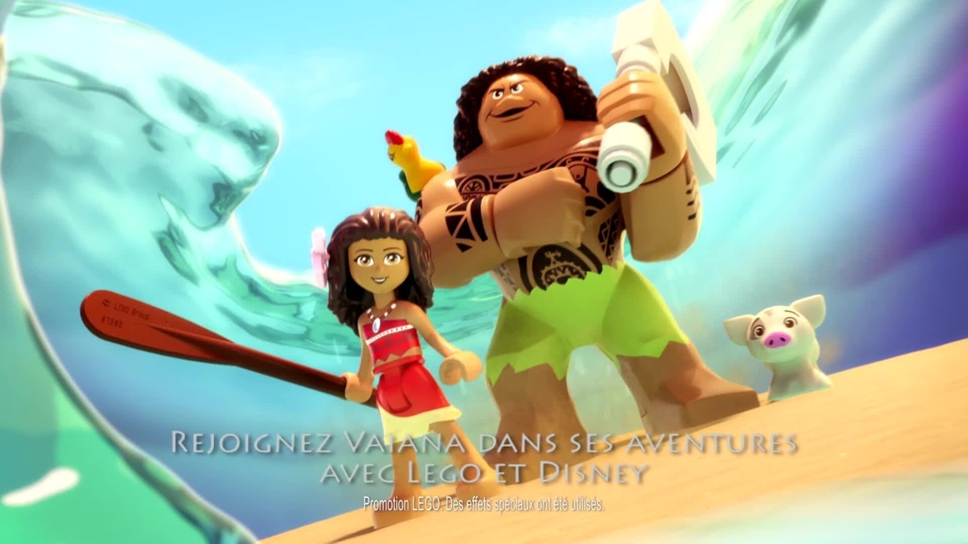 LEGO® Disney & Vaiana Aventure