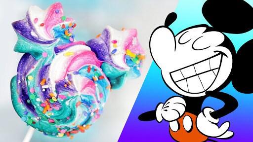 Mickey Meringue 4 Ways | Dishes by Disney | Disney Family