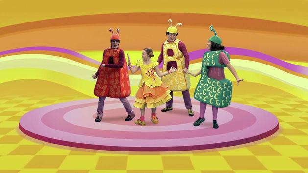 Somos los ABC - El jardín de Clarilú