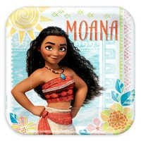 Image of Moana Lunch Plates # 1