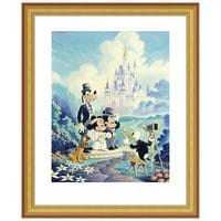 Image of ''Mickey and Minnie Wedding'' Giclée by Randy Souders # 4