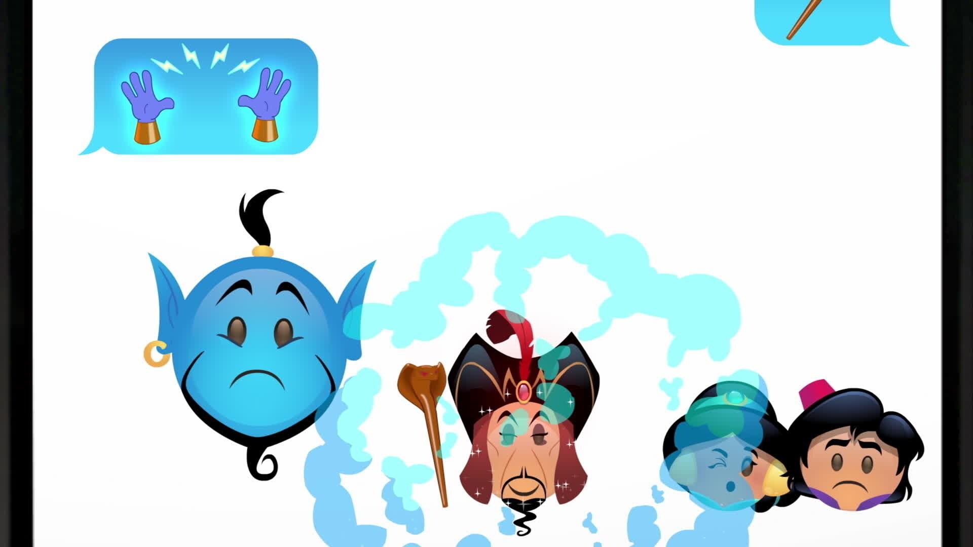 Aladin raccontato dagli Emoji