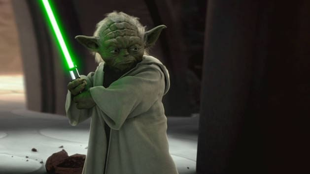 Star Wars - Yoda Vs Count Dooku