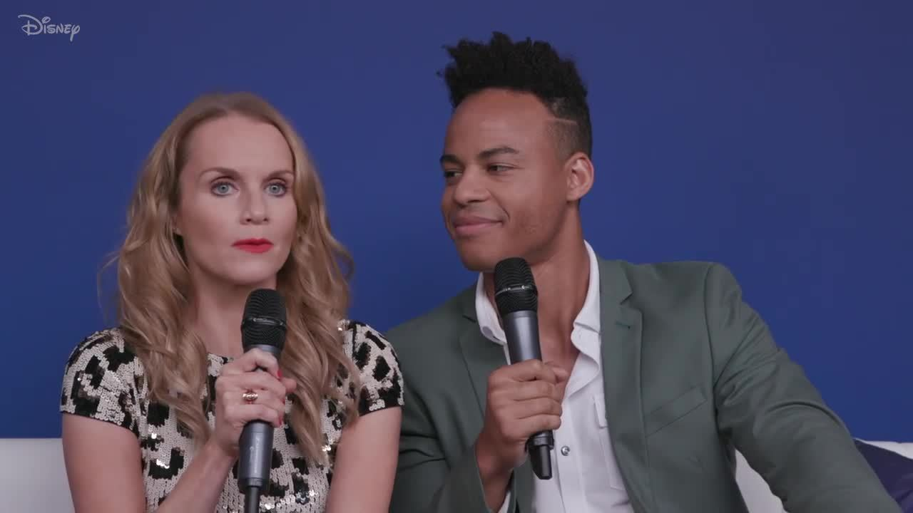 The Cast of High School Musical: The Musical: The Series at D23 EXPO | Disney