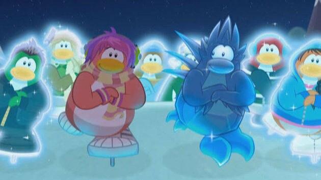 """""""La nieve es genial"""" - Club Penguin"""