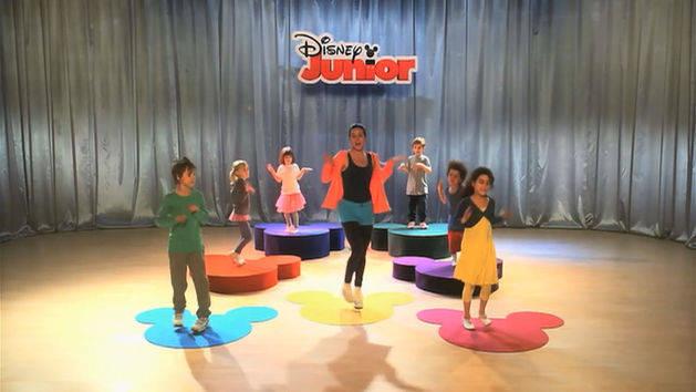 Dans med Disney Junior - Bikuben