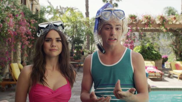 Ross vs. Maia | Extreme (Poolside) Water Sports | Teen Beach 2