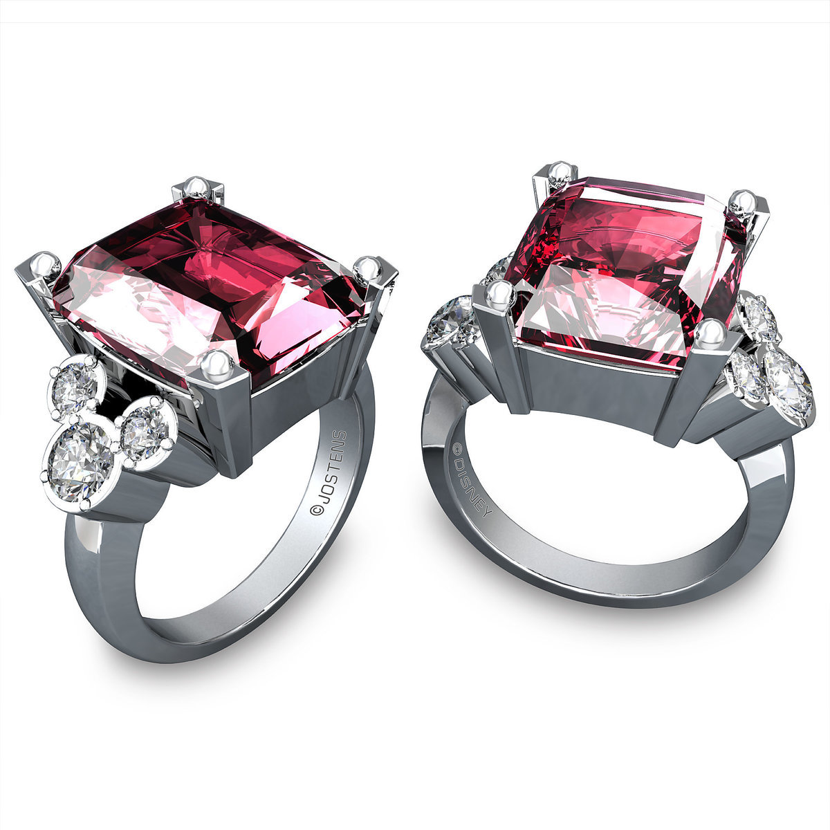loading crown rings pink princess october itm is gold s ring birthstone image tourmaline