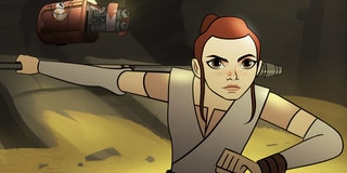 Rey, Ahsoka Tano, and More Iconic Heroes to Star in New Star Wars Forces of Destiny Animated Micro-Series