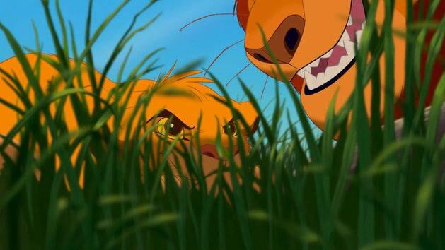 Uma lição para Simba - O Rei Leão