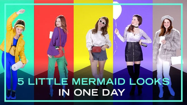 5 Outfits Inspired by The Little Mermaid | Fashion by Disney Style