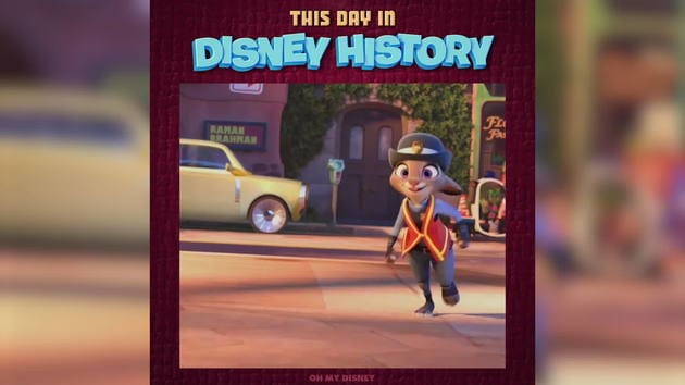 Zootopia | This Day in Disney History by Oh My Disney