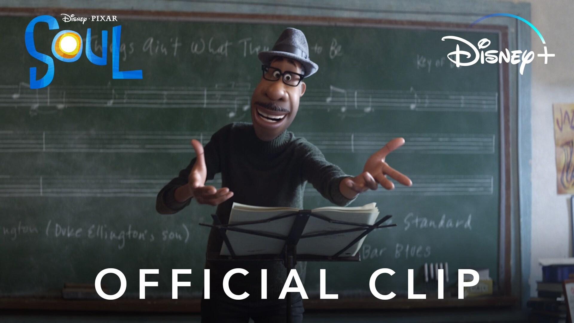 Joe Teaches Class | Disney and Pixar's Soul | Disney+