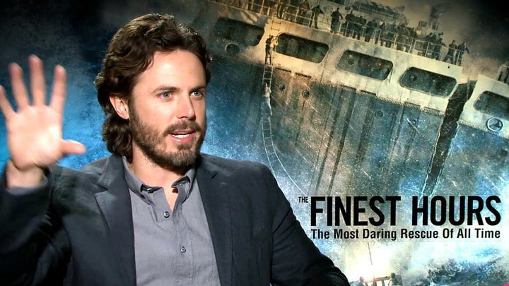 Lightning Round with Casey Affleck | The Finest Hours | Oh My Disney