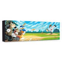 Image of ''Swing for the Fences'' Giclée on Canvas by Tim Rogerson # 1