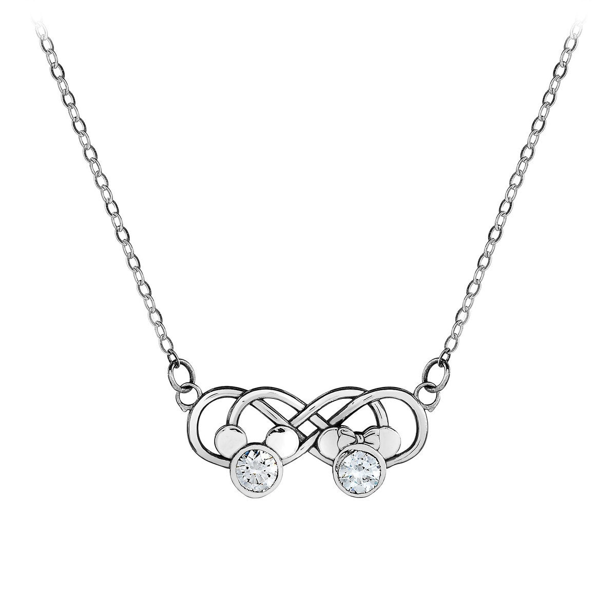 for necklace figure infinity charm silver jewelry all eight bling view sign sterling chain symbol bracelet double theme