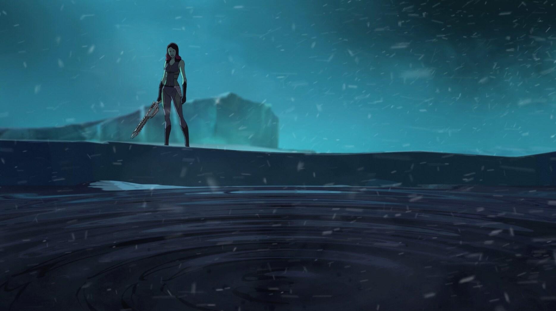 Gamora - Parte 1 - Guardiões da Galáxia