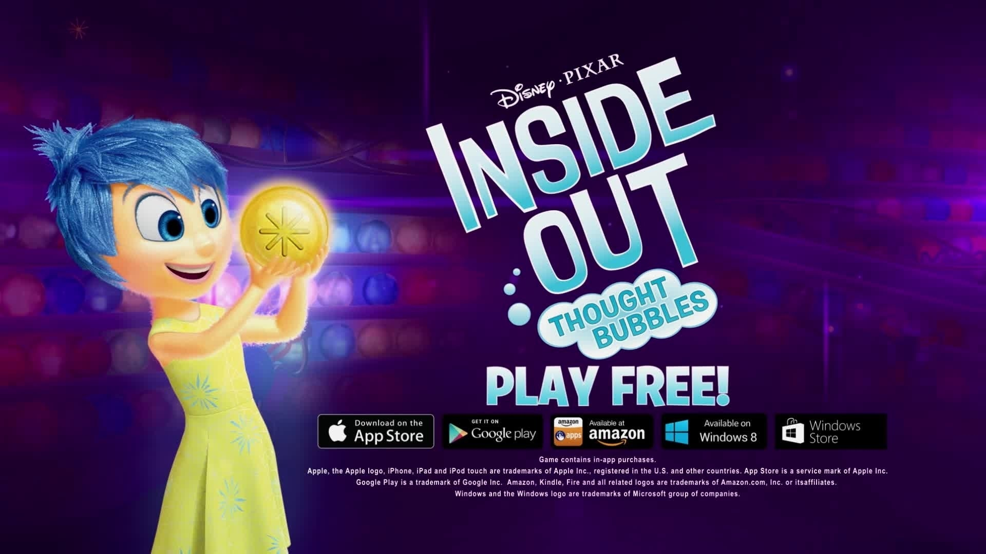 Inside Out: Thought Bubbles Trailer