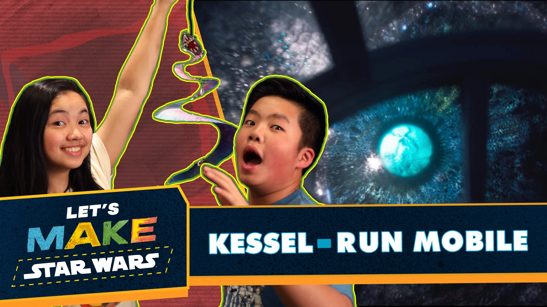 How to Make a Kessel Run Mobile | Let's Make Star Wars