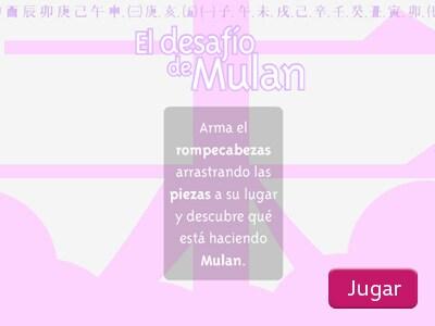El desafío de Mulán