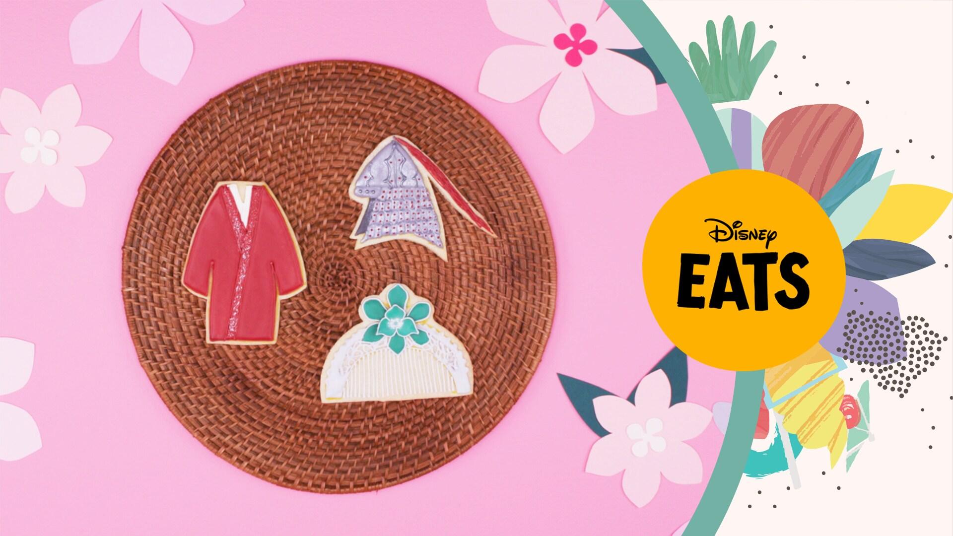 Mulan Cookies   Disney Eats