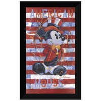 Image of Mickey Mouse ''American Mouse'' Giclée by Eric Robison # 5