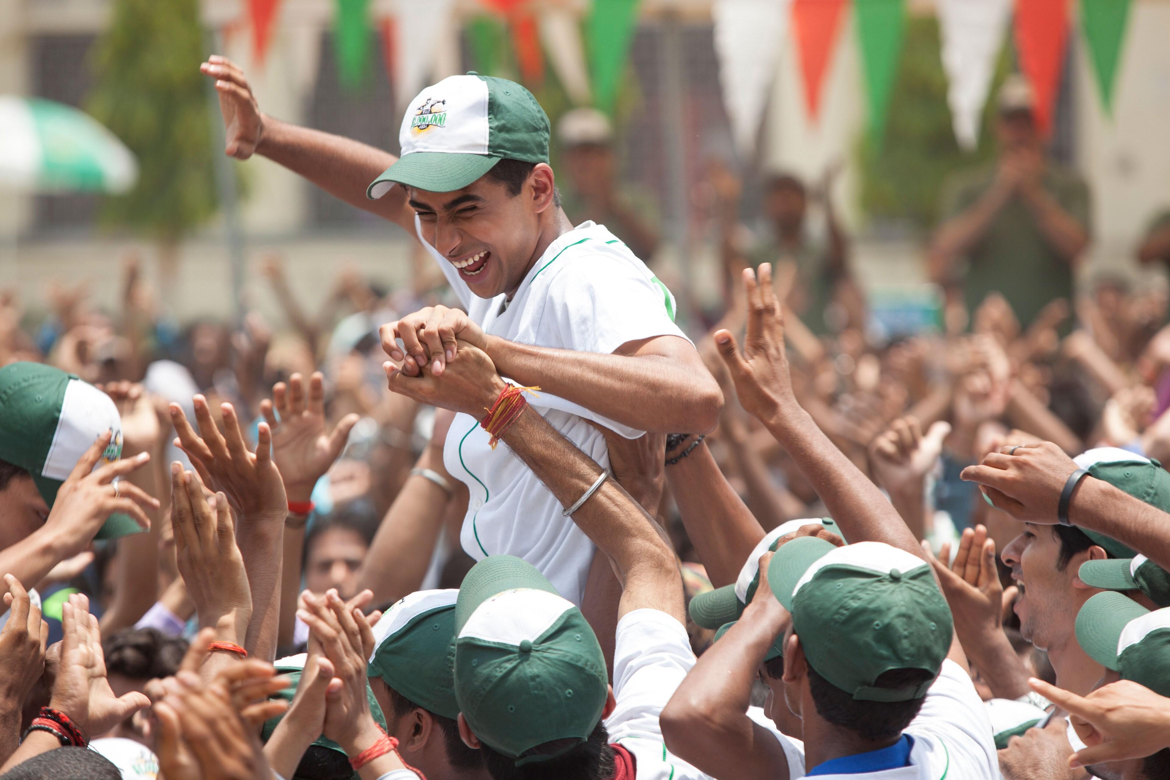 "Suraj Sharma in ""Million Dollar Arm"""
