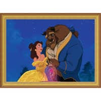 Image of ''Beauty and the Beast Dancing'' Giclé # 8