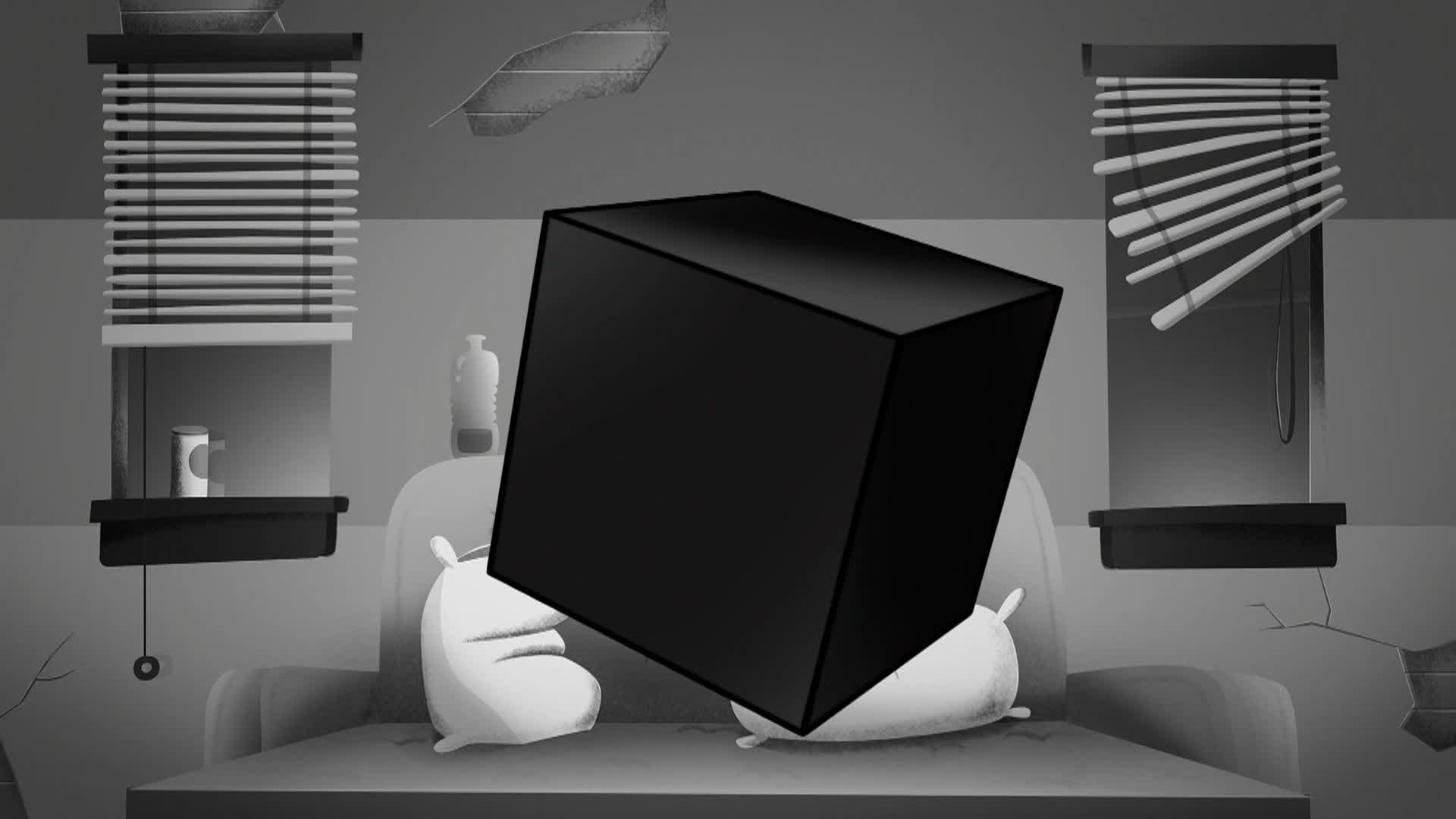 El Cubo de Negra Oscuridad
