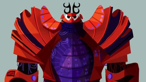 Big Hero 6 Concept Art to Final Frame | Oh My Disney