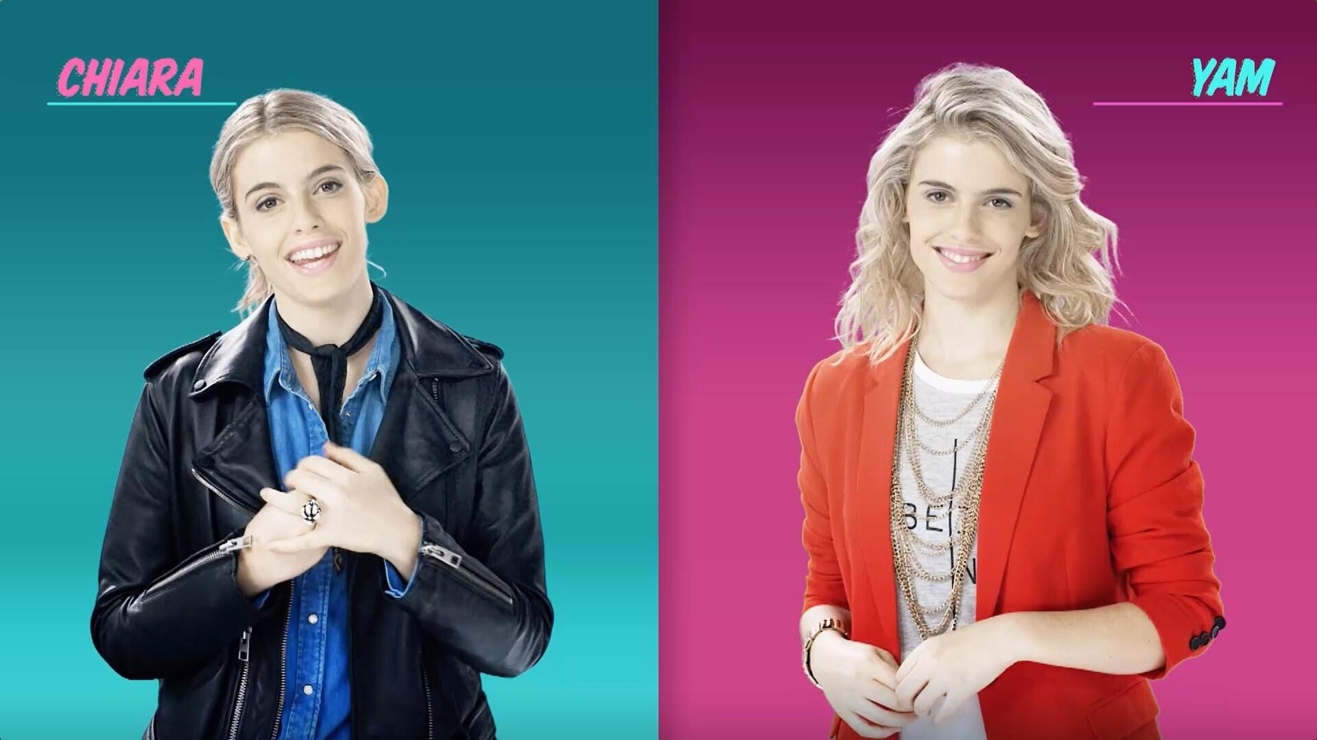 Who is Who? Chiara vs. Yam - Soy Luna