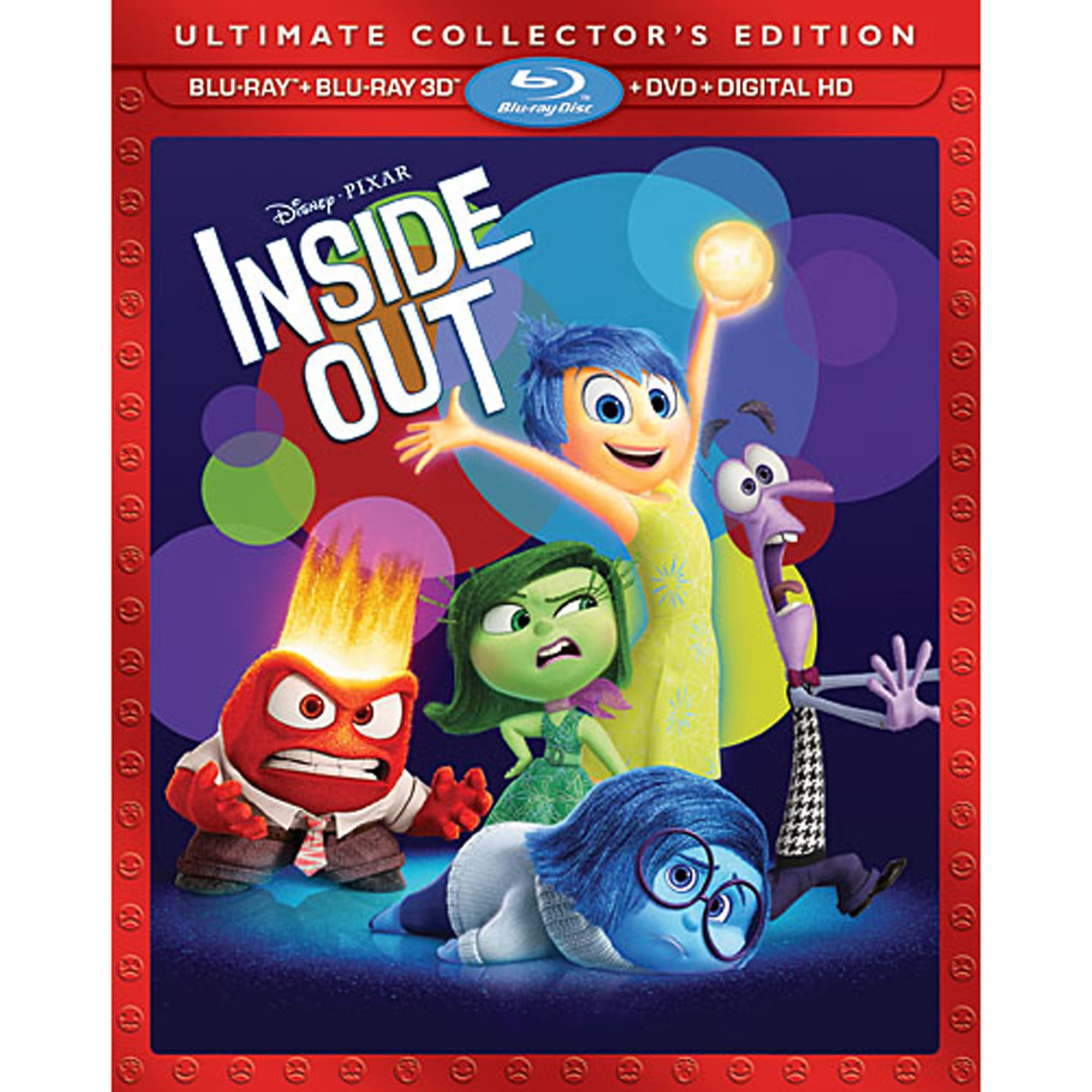 PIXAR Inside Out Ultimate Collector's Edition 3D Combo Pack