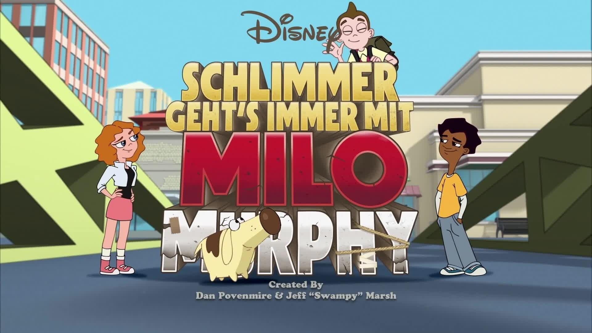 Schlimmer geht's immer mit Milo Murphy - Schnee-Alarm!/Ein ungleiches Paar