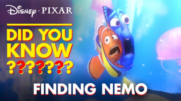 Fun facts easter eggs from finding nemo pixar did you for Easter egg fun facts