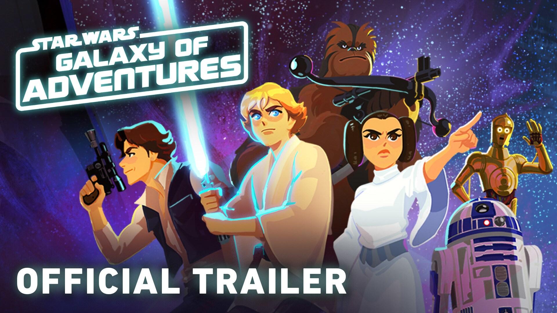 Star Wars Galaxy of Adventures | Disney Video