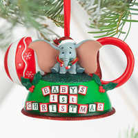 Dumbo Baby S First Christmas Ear Hat Ornament Shopdisney