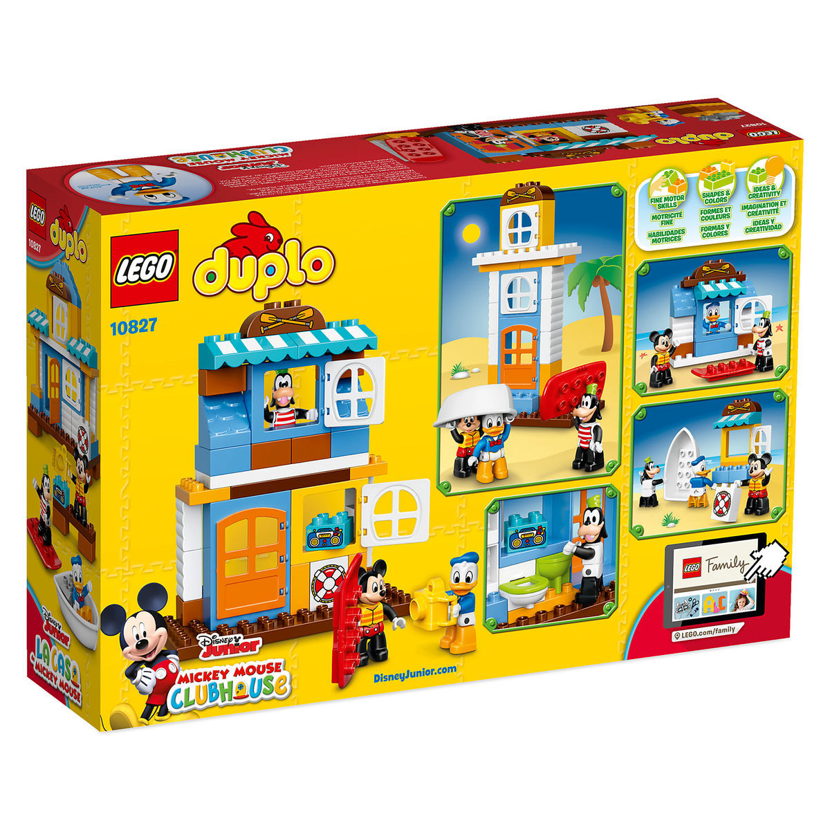Mickey Mouse & Friends Beach House LEGO Duplo Playset | shopDisney