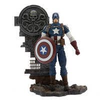 Image of Captain America Action Figure - Marvel Select - 7'' # 1