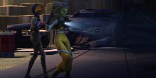 "Star Wars Rebels: ""Hera and Sabine, Alone in the Dark"""